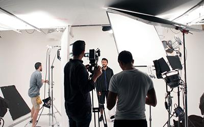 White Screen Studio and Crew Hire